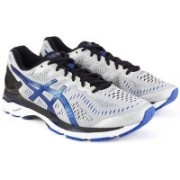 Asics GEL - KAYANO 23 (2E) Running Shoes For Men(Black, Grey)