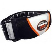 IBS Vibroshaper Ab Fitness Fat Burner Vvibro Shaper Sauna Slim Vibrating Magnetic Slimming Belt (Black)