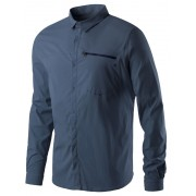 Houdini Waft overhemd en blouse lange mouwen Heren blauw S 2017 Overhemden lange mouw