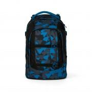 Satch Pack Schulrucksack Blue Triangle #SAT-SIN-000-9D6