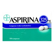 > Aspirina * 10 Compresse 325 mg
