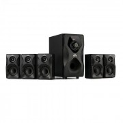 Auna Concept 720 Sistema de altavoces 5.1 95 W RMS OneSide Subwoofer Bluetooth USB SD (MM-5.1-HBK2)