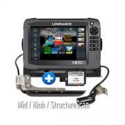 Sonda GPS Plotter Lowrance HDS 7 Gen3 Pack BASIC