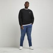 river island Mens Big and Tall Blue Sid skinny fit jeans (42XL)