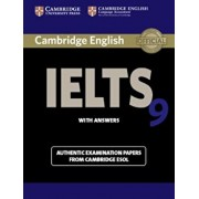 Cambridge Ielts 9 Student's Book with Answers: Authentic Examination Papers from Cambridge ESOL, Paperback/Cambridge Esol
