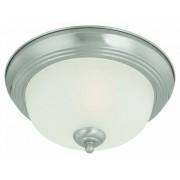 """Thomas Lighting Pendenza Lámpara de techo (2 luces, níquel cepillado), Tradicional, 13.3""""L x 13.3""""W x 5.5""""H, Níquel cepillado"""