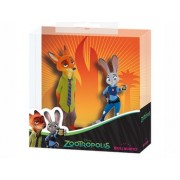 Set figurine Nick Wilde si Juddy Hoops - Zootropolis