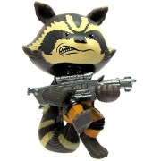 Rocket Raccoon Attacking: ~2.6 Funko Mystery Minis x Guardians of the Galaxy Vinyl Mini-Bobble Head Figure Series