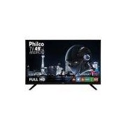 Smart TV LED 49 Philco PH49F30DSGWA Full HD com Conversor Digital 2 HDMI 2 USB Wi-Fi