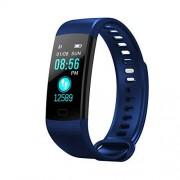 Smartwatch Alician RONSHIN Monitor de oxígeno en Sangre, Monitor de presión Arterial, podómetro, Pulsera Deportiva, rastreador de Fitness, Color Azul