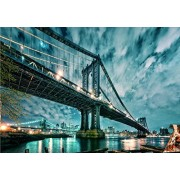 """[ Impuzzle ] """"Manhattan and Brooklyn Bridge"""" 
