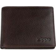Kožená rozkládací peněženka na kreditní karty Zippo 44137