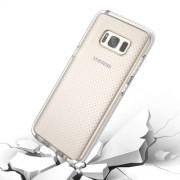 Samsung Galaxy S8 Plus Case, Basketball Texture Anti-collision TPU Protective Case(White)