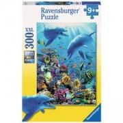 Пъзел Ravensburger 300 елемента, Подводно приключение, 700936