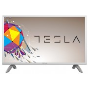 "Tesla TV 32S356SH 32"" TV LED slim DLED DVB-T2/C/S2 HD Ready silver"