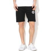 Pantaloni scurti barbati DC Shoes New Rebel Black Fleece JerseyJogging Gym EDYFB03064-KVJ0