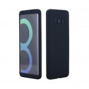 Husa Samsung Galaxy S8 Plus Full Cover 360 Silicon - Negru