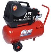 Compresor aer FIAC PROFESSIONAL AIR 24/201, Debit aer 168l/min, 8 bar, Capacitate rezervor 24 litri