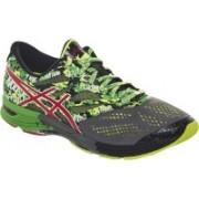 Asics Gel-Noosa Tri 10 Men Running Shoes For Men(Grey, Red, Green)