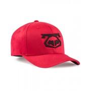 Nasty Pig Snout Cap Hat Red/Black 8103