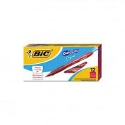Gel-Ocity Retractable Gel Pen, Red Ink, .7mm, Medium, Dozen