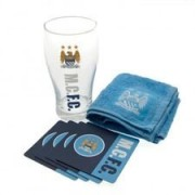Manchester City Mini Bar Set - Blauw