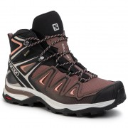 Туристически SALOMON - X Ultra 3 Mid Gtx W GORE-TEX 408144 25 W0 Peppercorn/Black/Coral Aimond