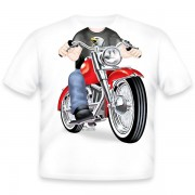 Just Add A Kid Majica Biker Fat Boy 972