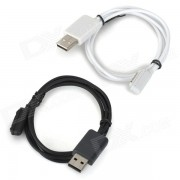 Cable de carga USB magnetico para Sony Z3 + Mas - Negro + Blanco (2PCS)