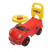 Jilani Trading Happy Star Riding On Pushing Car With Four Wheel Drive-Ride On Car - Red