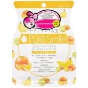 SUN SMILE «Yougurt» Маска для лица на йогуртовой основе, с фруктами, 1 шт.