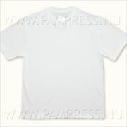 Fiú/férfi fehér póló