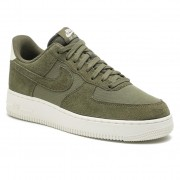 Pantofi NIKE - Air Force 1 '07 Suede AO3835 200 Medium Olive/Medium Olive/Sail