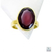 Red Onyx Gold Pleted Ring seemly Red jewelry Indian gift