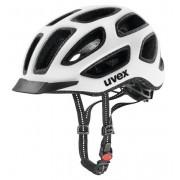 Uvex City E - casco bici - White