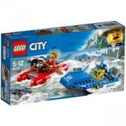 Конструктор ЛЕГО Сити - Бягство по дивата река, LEGO City Police, 60176