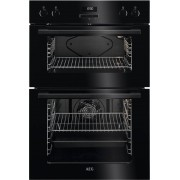 AEG DEE431010B Double Built In Electric Oven - Black