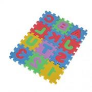 Phenovo 1 Set of 3PCS Foam Puzzle Mat Alphabet Number Jigsaw Puzzle Constructing Blocks Kids Early Learning Educational Toys Xmas Gift