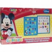 Tabla magnetica cu numere Mickey + 3 ani Multicolor