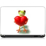 VI Collections MR FROG FEELING LOVE pvc Laptop Decal 15.6