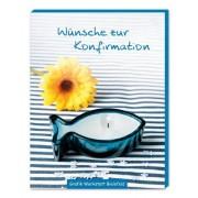 Grafik Werkstatt Bielefeld - Wünsche zur Konfirmation: Gute-Wünsche-Box blau - Preis vom 11.08.2020 04:46:55 h