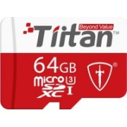 Tiitan Ultra 64 GB MicroSDXC UHS Class 3 300 MB/s Memory Card