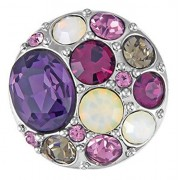 Ginger Snaps VINTAGE - PURPLES SN05-77 Interchangeable Jewelry Snap Accessory