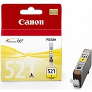 Мастилена касета Canon Ink Tank CLI-521 Yellow, 2936B001AA