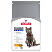 1,5кг Mature Adult 7+ Sterilised Cat Hill's Science Plan, суха храна за котки с пиле