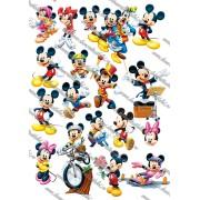 Imagine comestibila Mickey si Minnie - 2