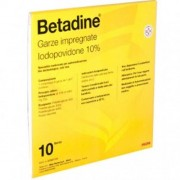 MEDA PHARMA SpA Betadine Garze Impregnate 10% 10 Garze