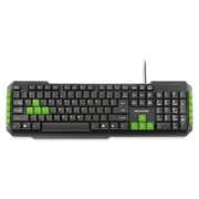 Teclado Multimidia Gamer Teclas Verdes Usb Multilaser - TC20