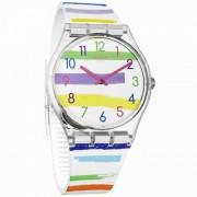 Swatch Orologio Ge254 Colorland Neon multicolori in Silicone