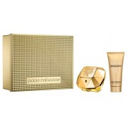 Paco Rabanne Lady Million Woda perfumowana 80ml spray + Balsam do ciała 100ml